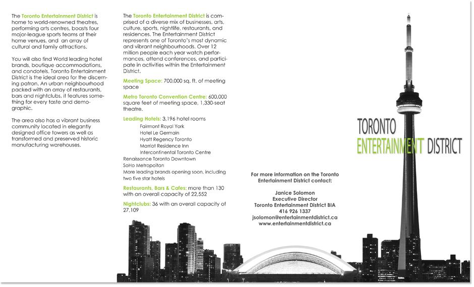 Brochure Design, Map Design, Graphic Design